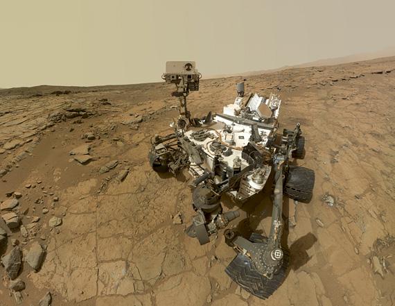 A selfie taken by the Curiosity rover. NASA/JPL-Caltech