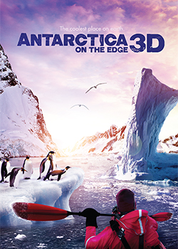 Antarctica: On the Edge 3D movie poster