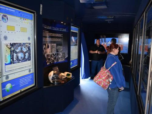 Museum of Natural Sciences hosts NASA'S Destination Station, astronaut Rex Walheim