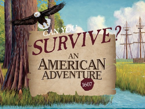 "New Museum of Natural Sciences exhibition asks: ""Can you survive an American Adventure?"""