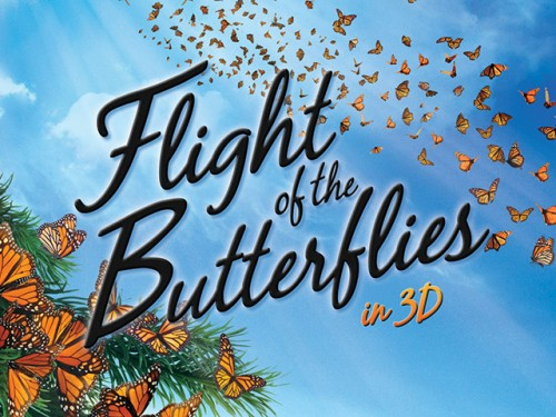 "Monarch madness: Museum premieres ""Flight of the Butterflies 3D"" June 30"