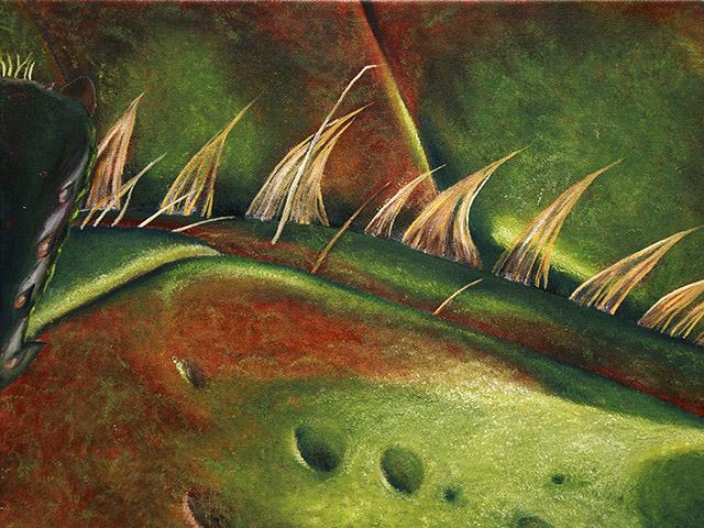 Painting by Rosalynn Villaescusa.