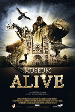 Museum Alive 3D - movie poster