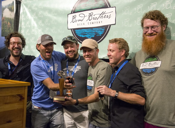 Bond Brothers Beer Company won last year's People's Choice Award!
