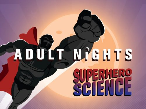 Explore the science of superheroes at Museum's 21+ event, June 22
