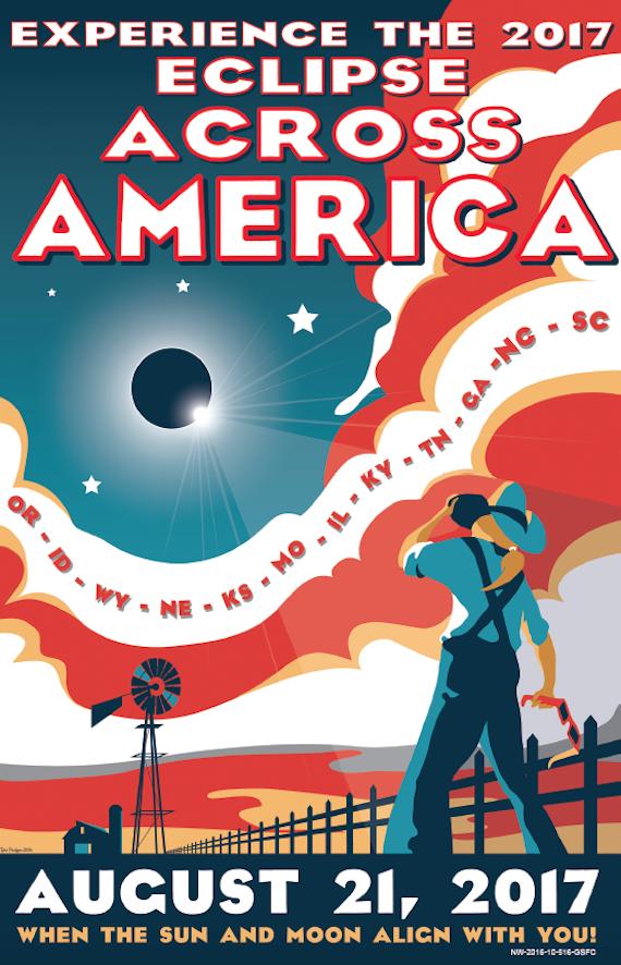 NASA Eclipse poster