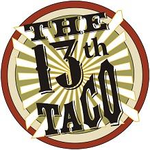 The 13th Taco logo