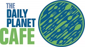The Daily Planet Cafe Logo
