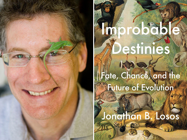 "Jonathan B. Losos and his book, ""Improbable Destinies: Fate, Chance and the Future of Evolution."""