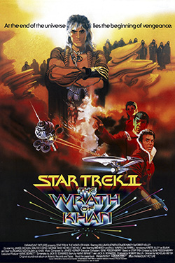 Star Trek II: The Wrath of Khan (movie poster)