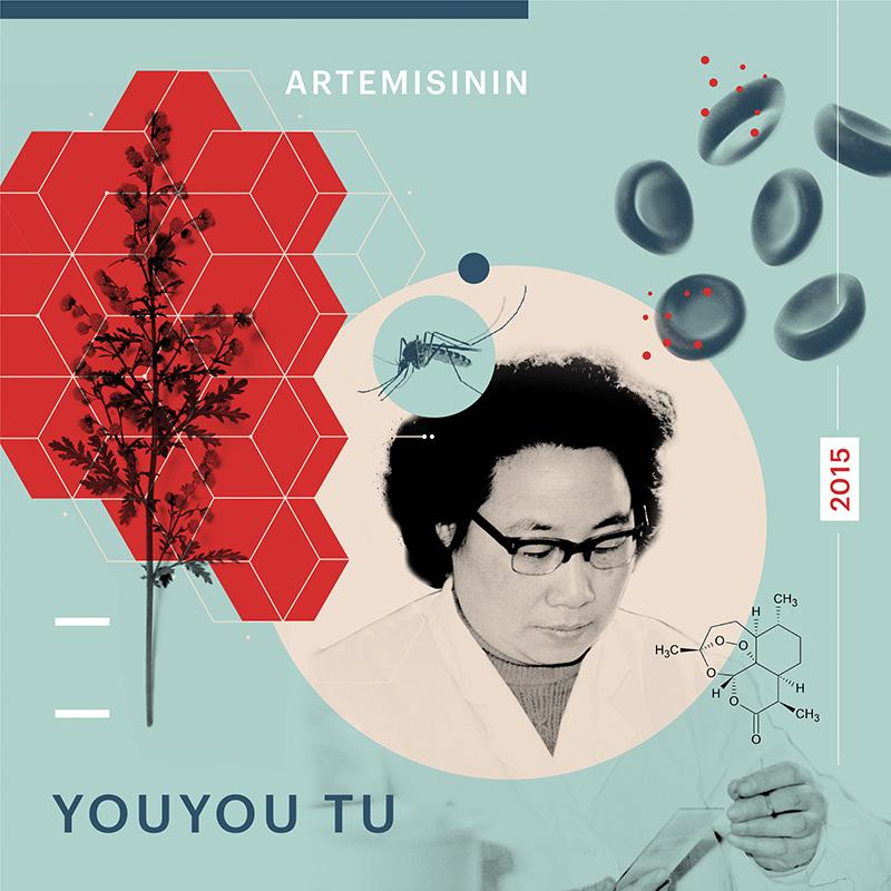 Beyond Curie exhibit: Youyou Tu by Phingbodhipakkiya.