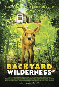 Backyard Wilderness 3D movie poster