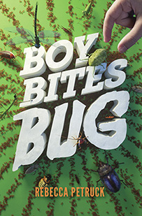 Boy Bites Bug by Rebecca Petruck - cover