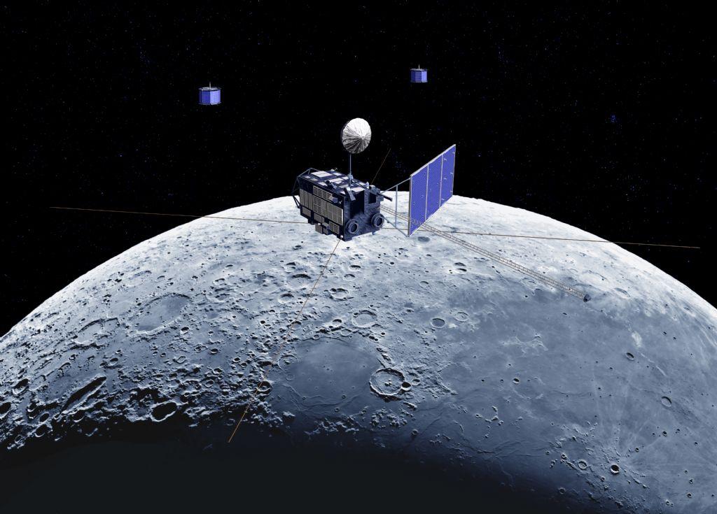 KAGUYA lunar orbiter