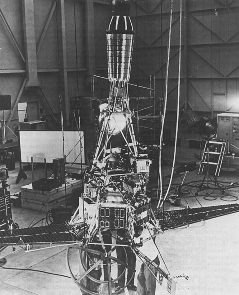 Ranger mission spacecraft