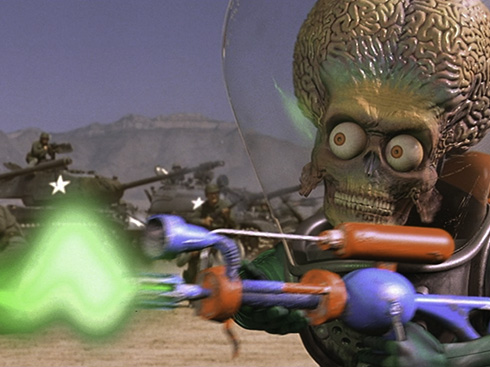 "Nice planet. We'll take it! Museum begrudgingly hosts ""Mars Attacks!"" Jan. 18"