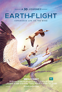 Earthflight 3D movie poster