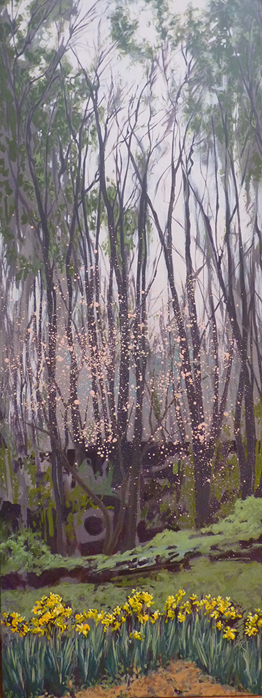 """""""Misty Morning"""" painting by Weinstein"""