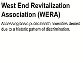 West End Revitalization Association logo