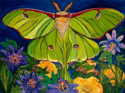 Pittsboro artist Lauren deSerres featured at Museum's Nature Art Gallery in May