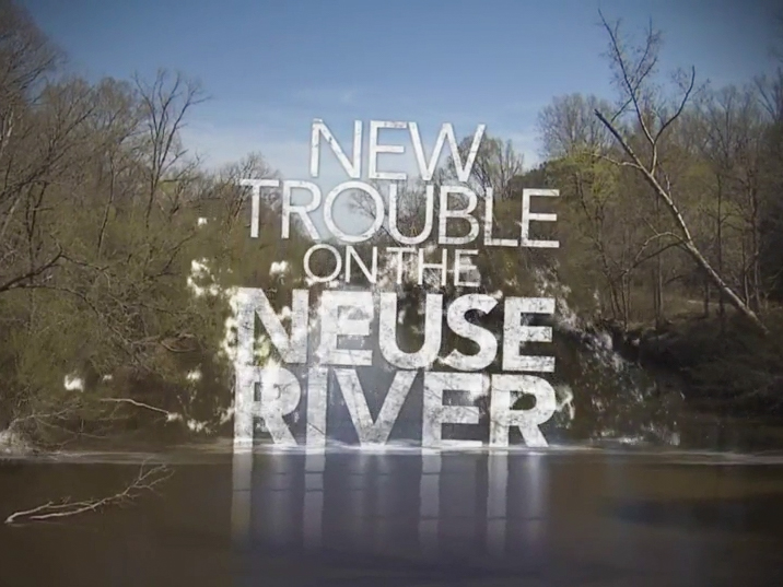 New Trouble on the Neuse River - title screen