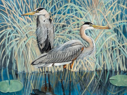 Raleigh native Lee Mims featured at Museum's Nature Art Gallery in November