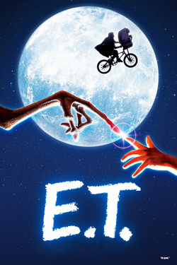 E.T. the Extra-terrestrial: movie poster
