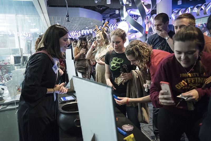 Adult Night: Halloween at Hogwarts 2017, Genomics Research Lab