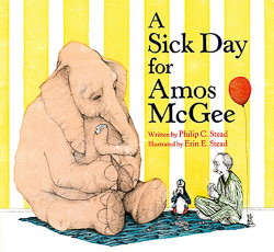 A Sick Day for Amos McGee - book cover