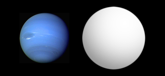 Left to Right: Neptune, HAT-P-11b