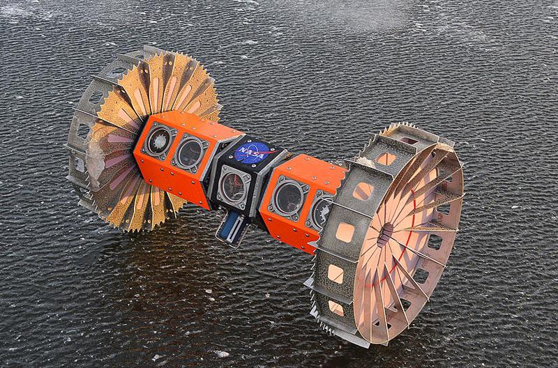 BRUIE rover