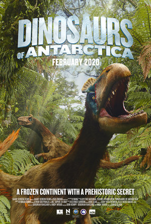 Dinosaurs of Antarctica 3D movie poster