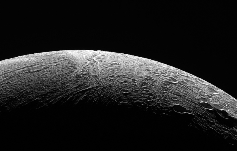 Enceladus close flyby