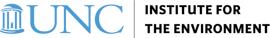 UNC Institute for the Environment logo