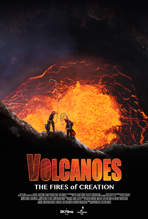 Volcanoes 3D movie poster