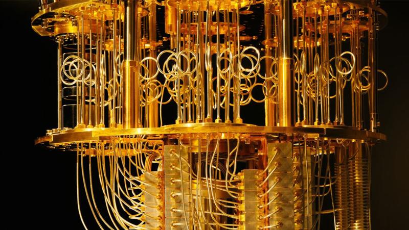Photo for quantum computing