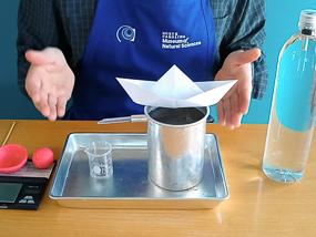 Principle of Buoyancy experiment