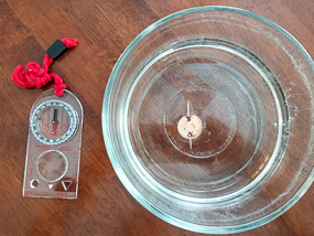 Make a compass step 4.