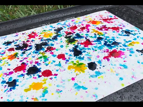 Art in the Rain