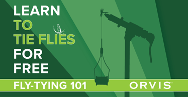 """Learn to tie flies for free with Orvis"""