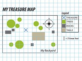 DIY Treasure Map.