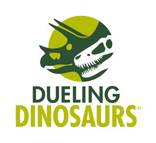 Dueling Dinosaurs logo