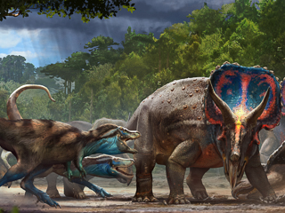 """North Carolina Museum of Natural Sciences to receive the """"Dueling Dinosaurs"""""""