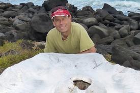 Dr. Greg Lewbart at Puerto Chino.