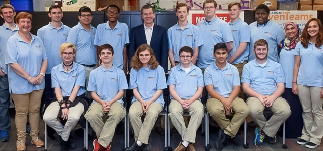 Governor Cooper with Catalyst staff and participants.
