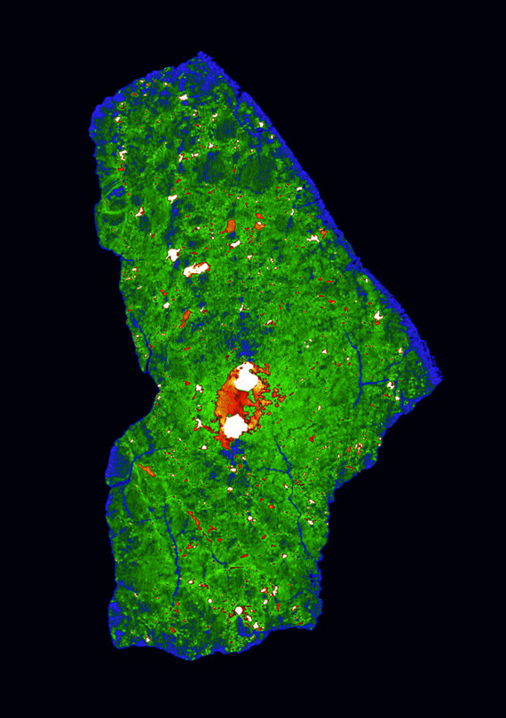 Chelyabinsk meteorite CT scan