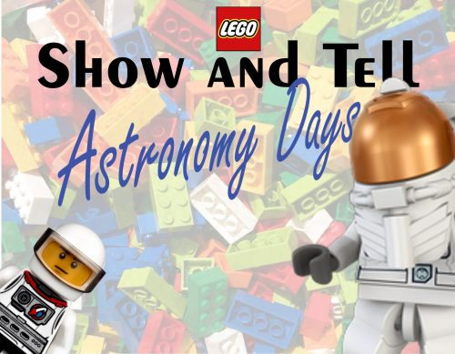 Legos with a lego astronaut
