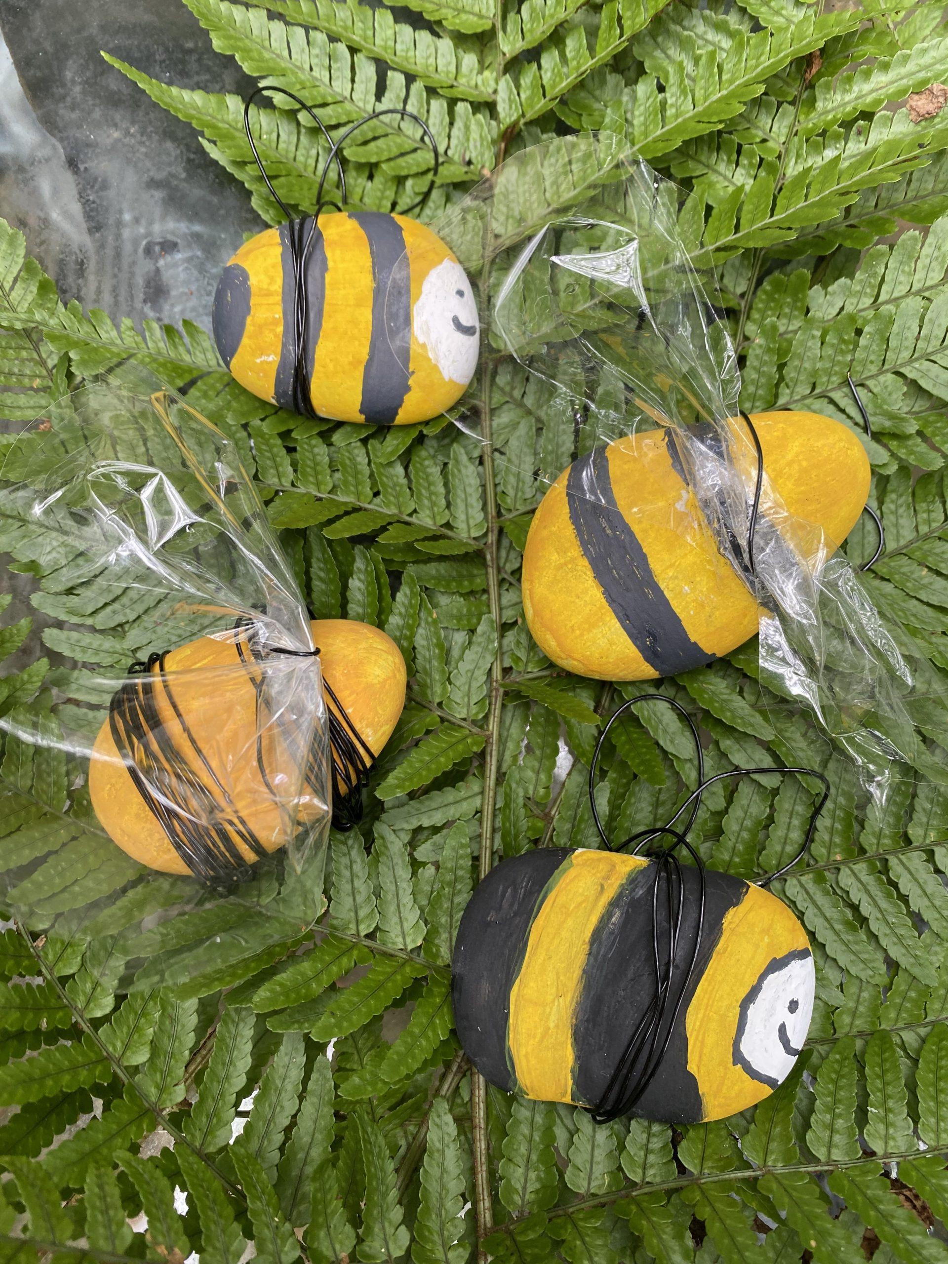 4 bee rocks