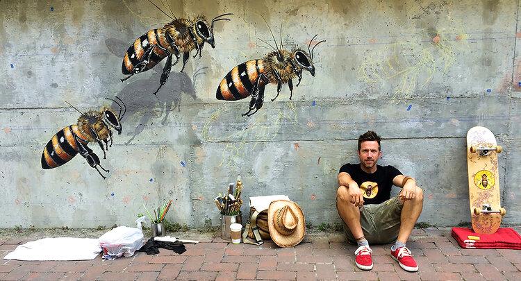 Artist Matt Willey