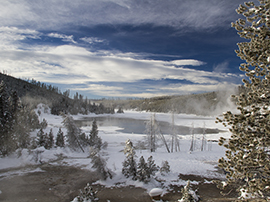 YELLOWSTONE IN WINTER: ITS LANDSCAPE AND LIFE